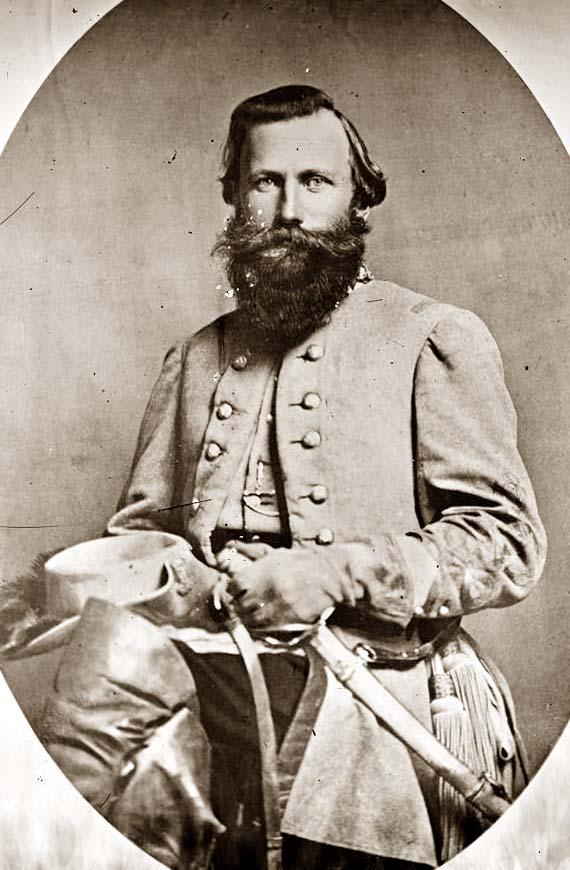 Confederate General JEB Stuart