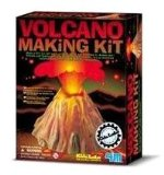 Volcano making educational project