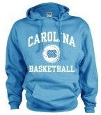 North Carolina Tar Heels Perennial Basketball Hooded Sweatshirt
