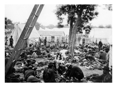 Savage Station, VA, Union Field Hospital After Battle, Civil War