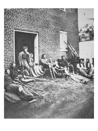 Wounded Soldiers after the Battle of Chancellorsville, May 1863