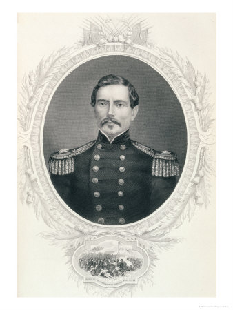 "General Pierre Gustave Toutant Beauregard from ""The History of the United States"""