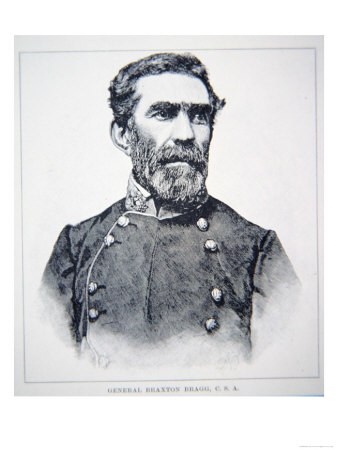 Portrait of General Braxton Bragg