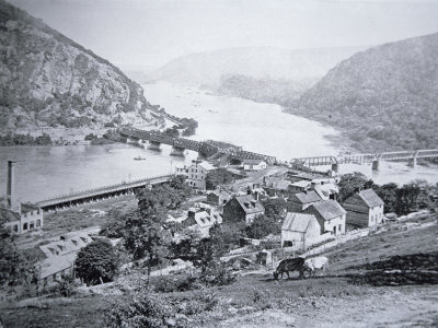 View of Harper's Ferry, West Viginia, c.1860
