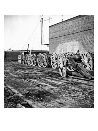 Richmond, VA, Confederate Artillery, Civil War