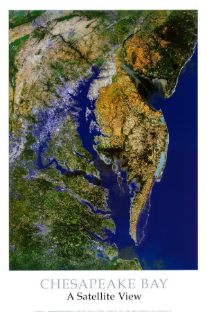 Chesapeake Bay from Space - ©Spaceshots