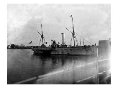 Hampton Roads, VA, Steamer Fort Jackson, Civil War