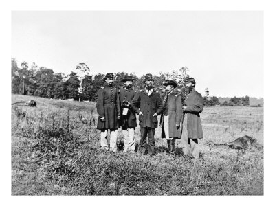 Cedar Mountain, VA, Officers on the Battlefield, Civil War