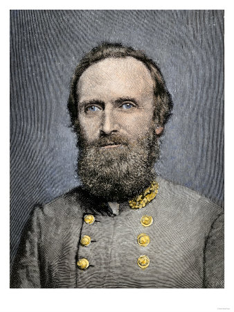 Confederate General Thomas Jackson
