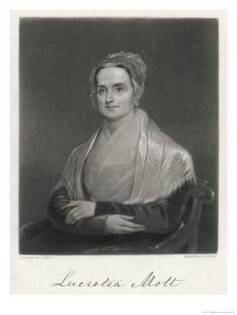 Lucretia Mott American Reformer Wife of a Quaker Minister Slavery Abolitionist