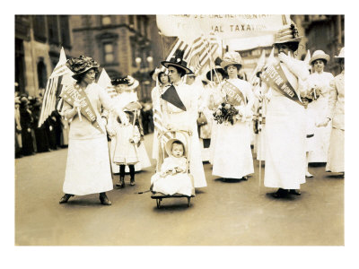 Women's Suffrage Parade, New York City, May 6, 1912
