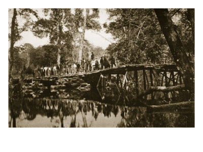 Grapevine Bridge over the Chickahominy River, 1861-65