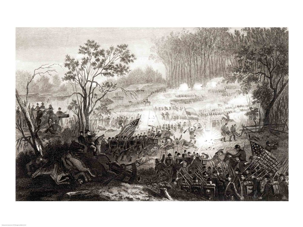 Battle of Shiloh begins