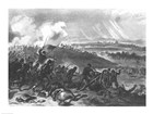 Final Charge of the Union Forces at Cemetery Hill, 1863