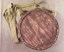 Civil War wooden canteen