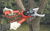 electric lopper chain saw