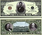 Civil War Bills