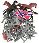 Confederate Toy Soldiers
