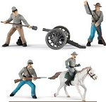 Confederate Action figures