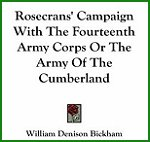 Rosecrans' Campaign With The Fourteenth Army Corps Or The Army Of The Cumberland