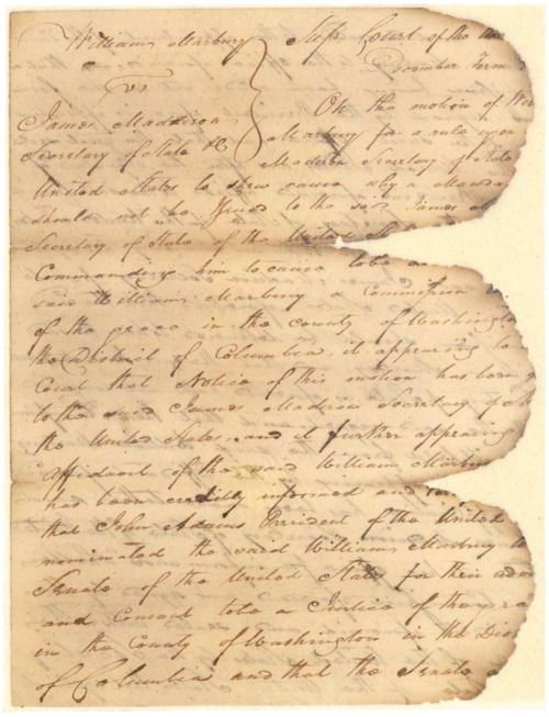 Marbury Document