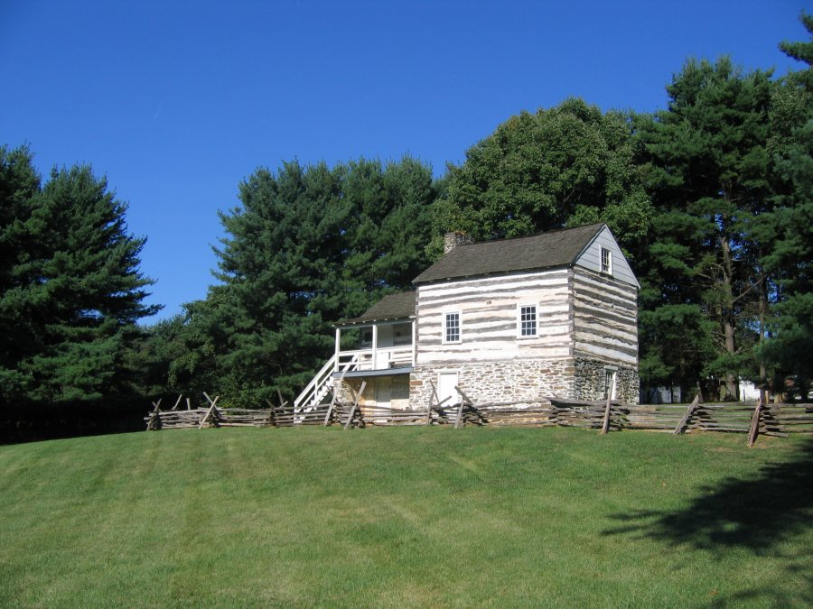 Kennedy farm house