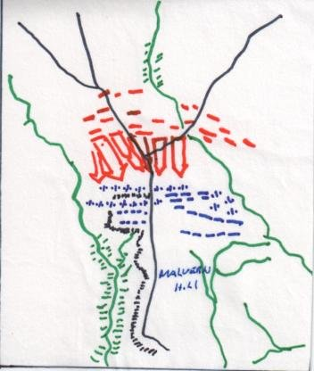 Malvern Hill Map