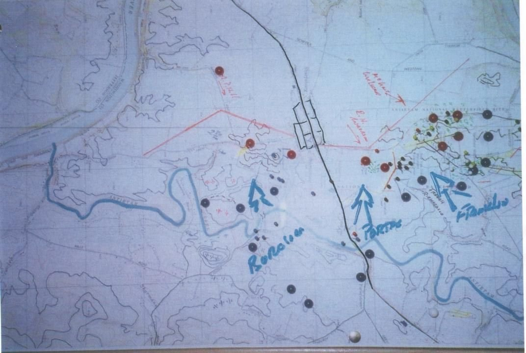 Antietam Tactical Battle Map