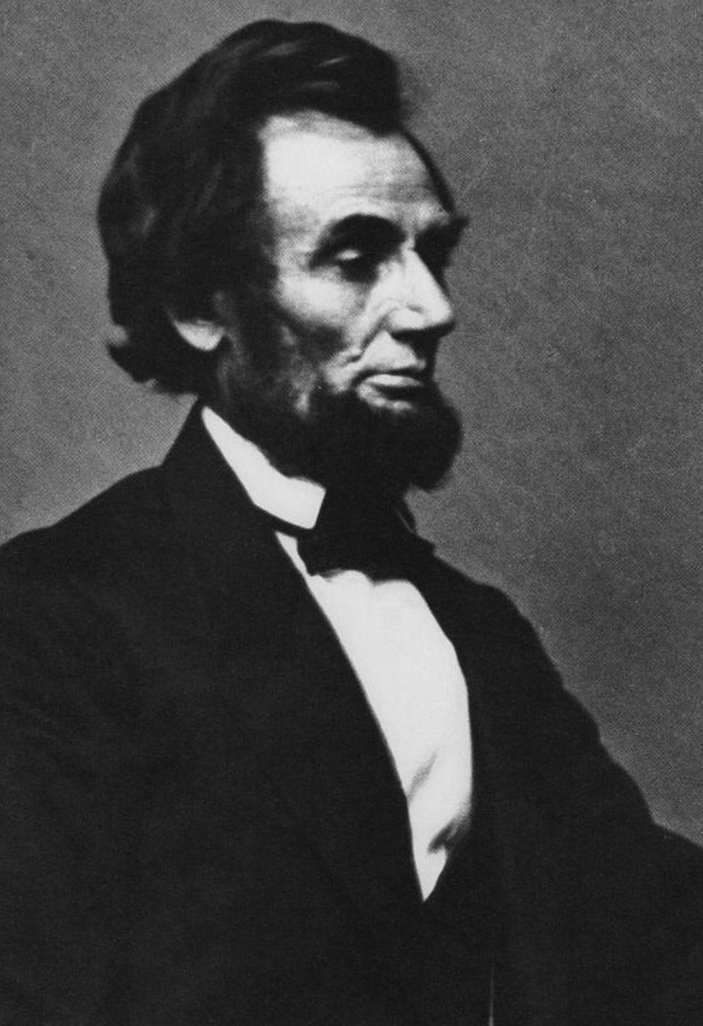 Abe Lincoln as President