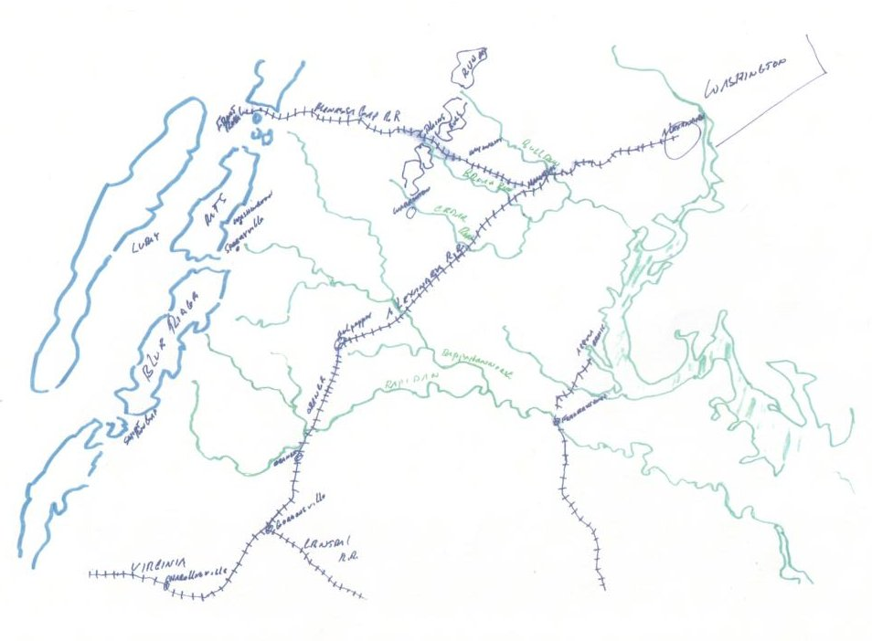 Northern Virginia Railroad Network