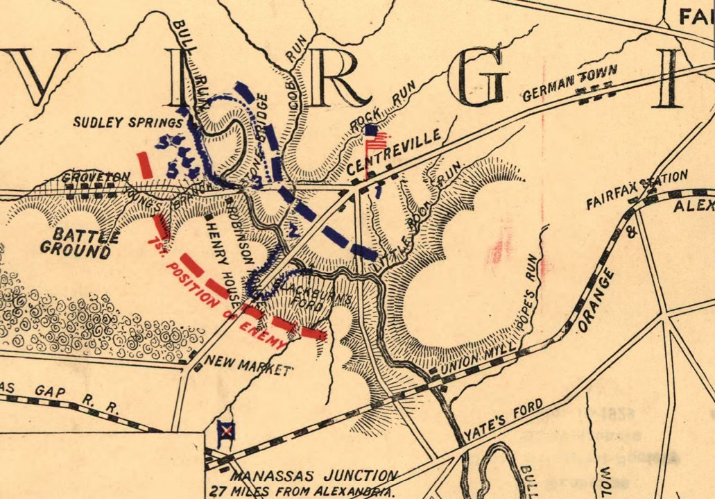 American Civil War Campaign Area and Battle Maps