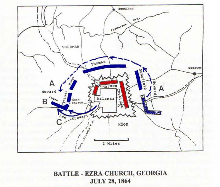 Ezra Church Georgia Civil War