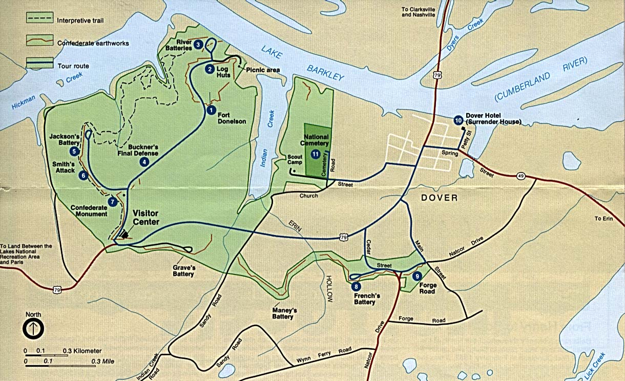 Fort Donelson Tennessee Civil War Battle American Civil War - Fort donelson on us map