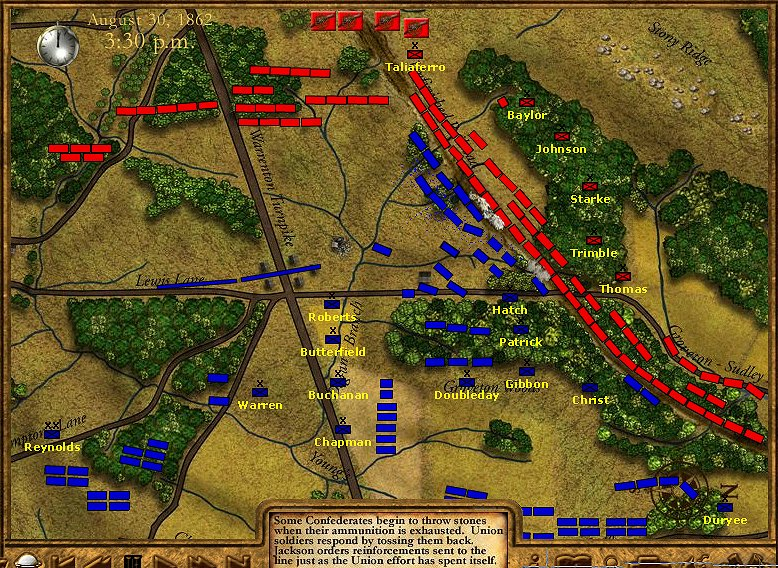 Bull Run 2 Battle Map