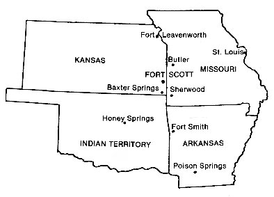 first kansas colored infantry battles