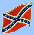 Confederate Flag Lapel Pin