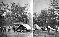 Second Corps Hospital on Rock Creek