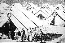 Camp Letterman hospital tents