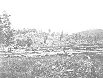 Little Round Top in 1863