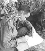 Sgt. Stevenson, 9th Infantry writes home.