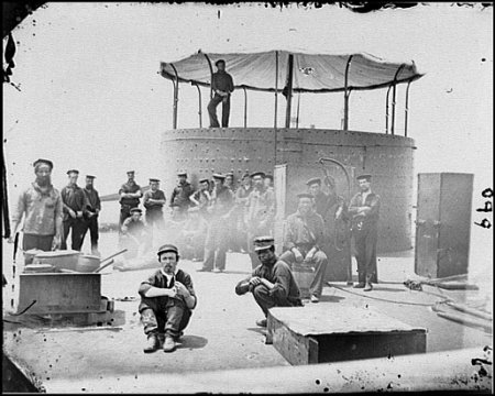 USS Monitor Crew Pictures