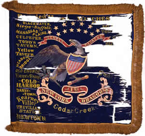 First New York Dragoons Flag