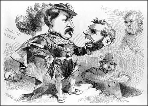 McClellan Lincoln Cartoon