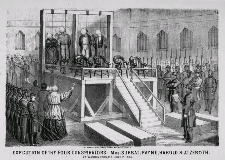 execution of Abraham Lincolns killers