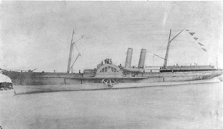 confederate blockade runner Advance