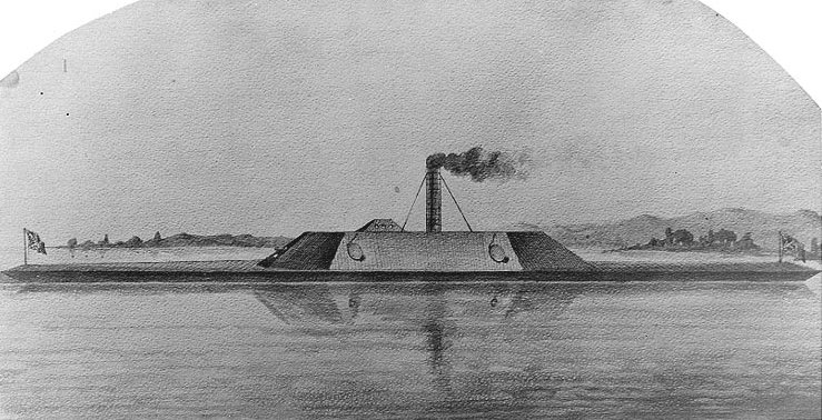 Confederate navy vessel