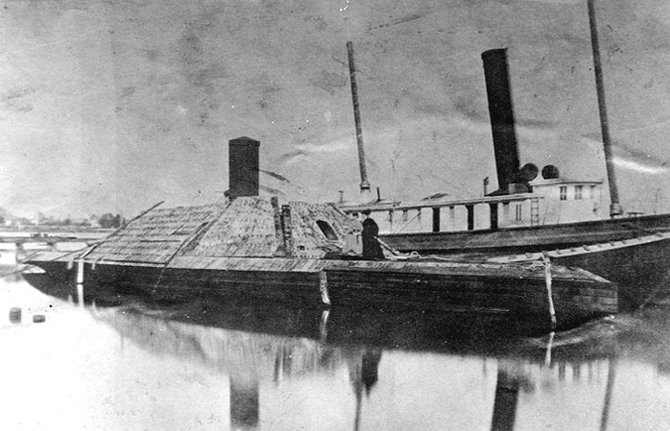 Confederate ship Virginia Naval Yard class type ram