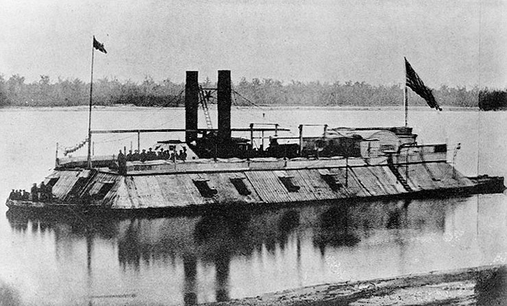 USS Corondelet union ironclad vessel