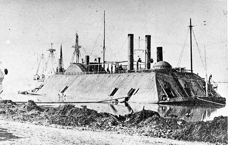USS Essex Civil War ironclad river gunboat