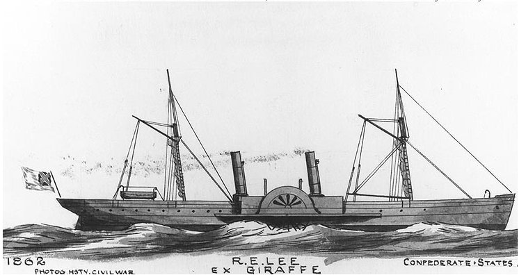 Built In Scotland In 1860 As The Commercial Steamship Giraffe Robert E Lee Was Captured On 9 November 1863 And Later Became Uss Fort Donelson